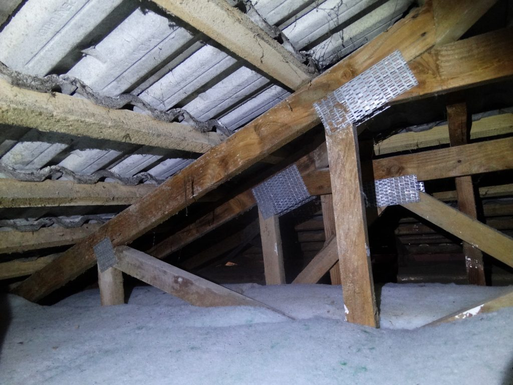 Attic and roof inspection in West Auckland
