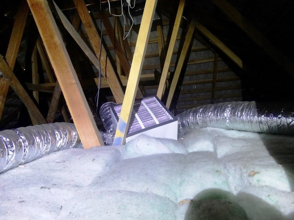 Insulation and ventilation inspection in West Auckland